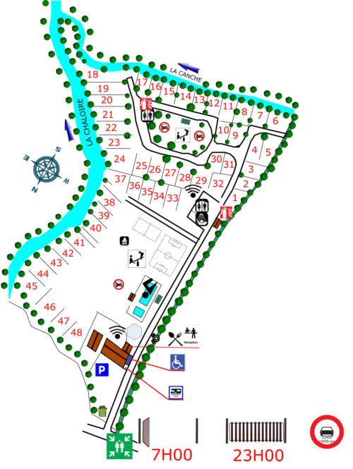 plancamping2021-Camping les 2 rivieres